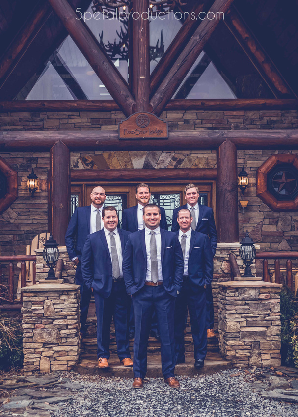 Five Star Lodge North Georgia Wedding Maritza and Brett copy
